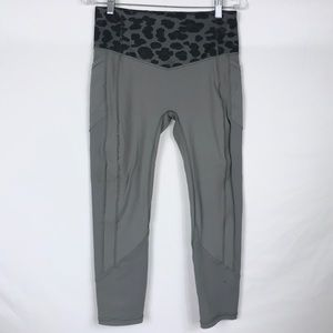 LULULEMON All the Right Places Crop Leopard Slate